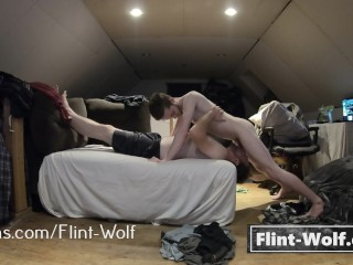 Feeding Old Man My Bushwa Increased By Background Her Majesty Pest (onlyfans.com/flint-wolf)