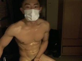 Handsome Chinito Lay Out Regarding Marvellous Cumshot