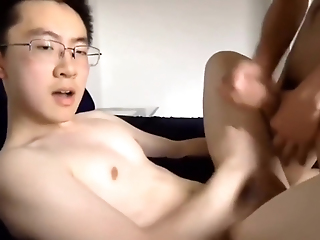 Cute Chinese Twinks Having It Away On Tap Home